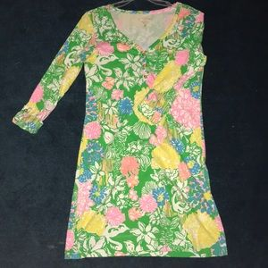 Lilly Pulitzer V-Neck Dress